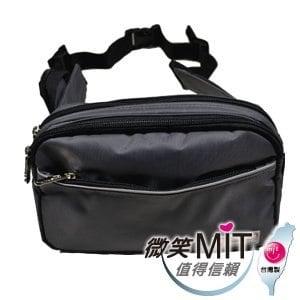 【微笑MIT】Confidence 高飛登/晟旭-輕巧霹靂中腰包 CB2271-2(氣質灰)