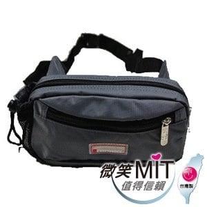 【微笑MIT】Confidence 高飛登/晟旭-輕巧霹靂小腰包 CB2281-2(氣質灰)