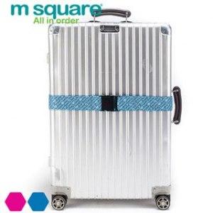 ~M square~插扣行李帶^(藍^)