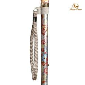 英國Classic Canes手杖配件。手腕環扣繩(銀灰色)