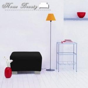 【HomeBeauty】彈力機能塑形魔術沙發罩-經典黑-小腳椅SS