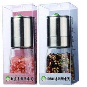 隆一專業研磨器鹽專用*1 + 胡椒粒專用*1/ (組)