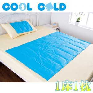 【COOL COLD】酷夏涼爽必備冷凝墊-1床1枕組