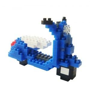 【TICO】偉士牌機車(藍)