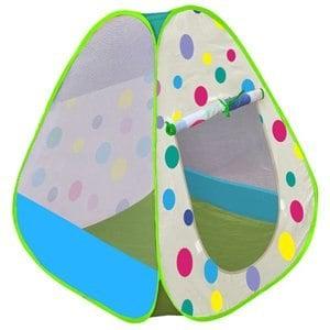 【孩子國】繽粉彩球帳篷折疊遊戲球屋送300球(綠)