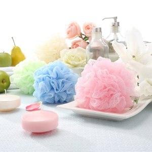 【潔思淨】立體設計3D棉棉皺皺網沐浴球 JU-04-ALL-10(買10送3)