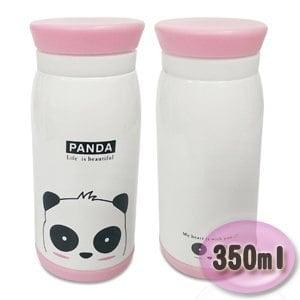 歡樂動物園保溫瓶350ml G412W(小貓熊)