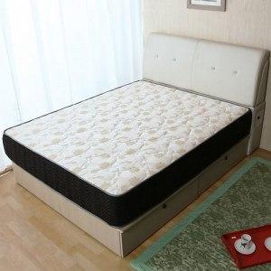 【契斯特】舒柔睡眠記憶膠高錳碳鋼蜂巢式獨立筒床墊-單人