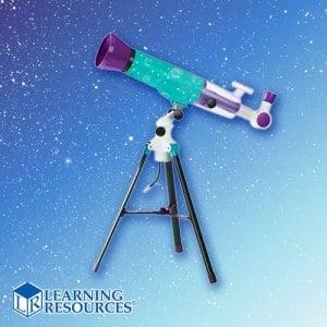 【美國 Learning Resources 教學資源】小哈雷兒童天文望遠鏡-觀星鏡