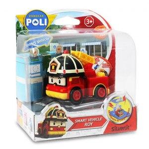【POLI 變形車系列】羅伊電動車 (需另購充電站遊戲組充電)  RB83241