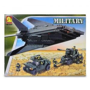 【OXFORD BLOCK】軍事系列積木組-隱形轟炸機 OX93009