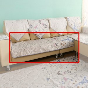 【ICE PAD】涼感精梳棉沙發布坐墊-3人座椅面70*170cm-春漫鐵塔