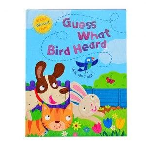 ~英國Caterpillar原文童書~Guess What Bird Heard大翻翻書