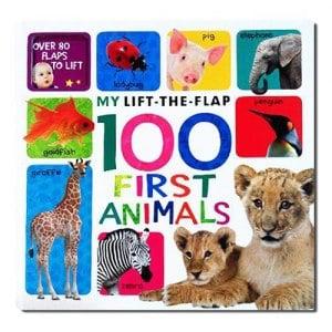 【英國Caterpillar原文童書】My Lift-the-flap 100 First Animals 翻翻書