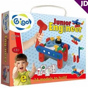 ~智高 GIGO 科學玩具 ~小小工程師系列 ~ 體驗組 #7334
