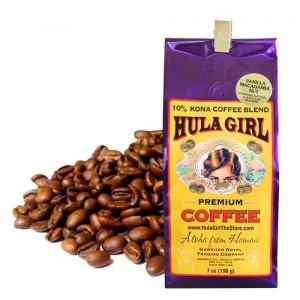 【HULA GIRL】可娜咖啡豆(夏威夷火山豆香草味)