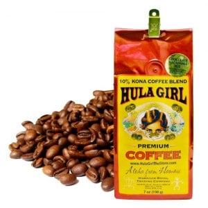 【HULA GIRL】可娜咖啡豆(夏威夷火山豆巧克力味)