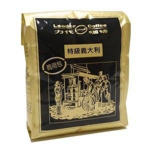 【力代咖啡】商用特級義大利咖啡豆-5包 (400g/包)