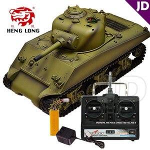 【Heng Long 恆龍】1:16 美國M4A3謝爾曼主戰坦克 (#3898-1)