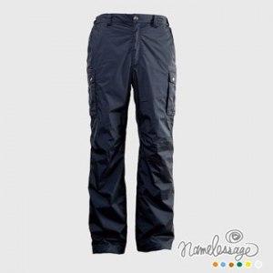 【namelessage】日本無名世代男款日本品牌防水透氣長褲(碳黑)