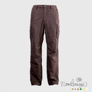 【namelessage】日本無名世代男款日本品牌防水透氣長褲(咖啡)