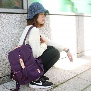 【微笑MIT】KOPER【輕甜焦糖】經典Lovely後背包(背帶加厚升級款)-幻想紫