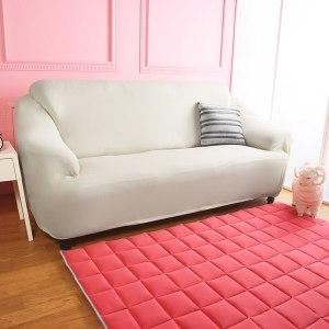 【Homebeauty】涼感防蚊日本大和彈性沙發罩-1+2+3人座-花崗灰