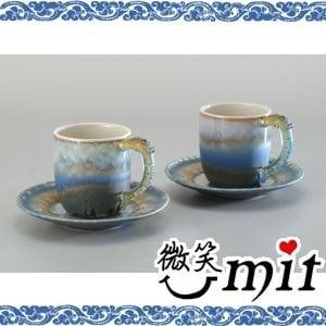 【微笑MIT】存仁堂/存仁堂藝瓷-山水小對杯