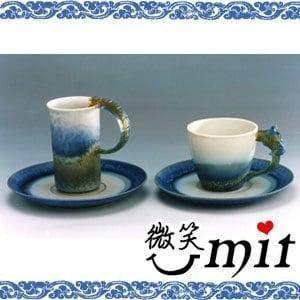 【微笑MIT】存仁堂/存仁堂藝瓷-山水對杯