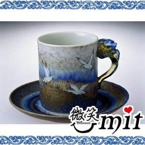 【微笑MIT】存仁堂/存仁堂藝瓷-山水雁鴨馬克杯