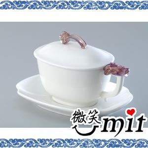 【微笑MIT】存仁堂/存仁堂藝瓷-吉祥如意長橢蓋杯組