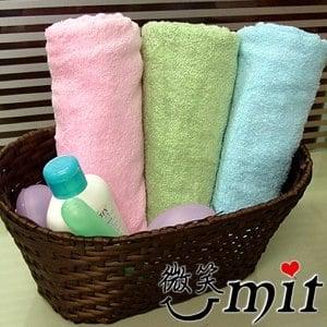 【微笑MIT】舒特/千元棉織-平織素雅小浴巾 YPL-230(三色)