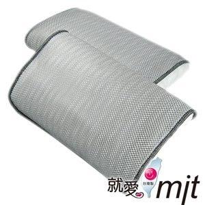 【微笑MIT】自然風/村林欣-節能透氣防蹣帎頭套(銀灰/2入)