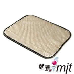 【微笑MIT】自然風/村林欣-節能透氣沙發坐墊(米黃/1入)