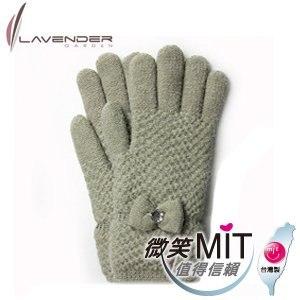 【微笑MIT】Lavender/上比-優雅名媛雙層手套(綠色)