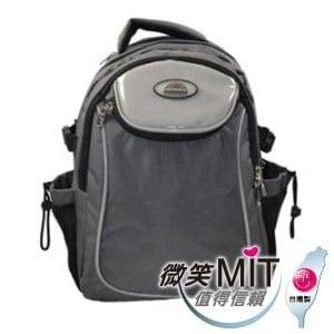【微笑MIT】Confidence高飛登/晟旭-Relaxed輕鬆背系列後背包 CB5922-2(氣質灰)