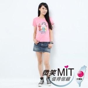 【微笑MIT】Shirley House/天悅-時尙文創藝術潮T 愛台灣系列 女款(Q版歌仔戲)