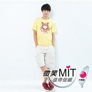 【微笑MIT】Shirley House/天悅-時尙文創藝術潮T 愛台灣系列 男款(Q版媽祖)