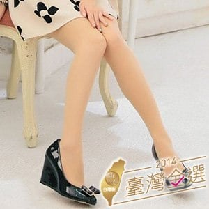 【微笑MIT】華貴絲襪/金福隆-雙T透膚全彈性超透膚褲襪 3雙(膚)