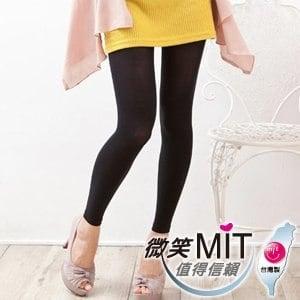 【微笑MIT】華貴絲襪/金福隆-頂級天鵝絨顯瘦九分內搭褲襪(2雙)