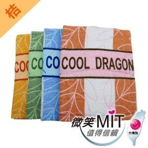 【微笑MIT】格蕾絲GRACE/泓棨-802葉子浴巾(桔色)