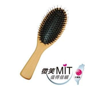 【微笑MIT】hanami/師寶-山毛櫸SPA大桃氣墊梳 JU006