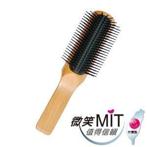 【微笑MIT】hanami/師寶-原木山毛櫸皇冠梳 JU001(九排/L)