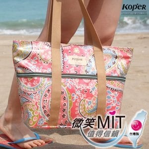 【微笑MIT】KOPER【繽紛趣】愛麗絲巧納袋(A4) 11078(玫瑰紅)