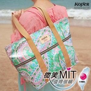 【微笑MIT】KOPER【繽紛趣】愛麗絲巧納袋(A4) 11078A(湖水綠)