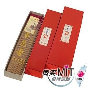【微笑MIT】本色香/施美玉-老山檀1尺3立香 No:3033(600g/盒)