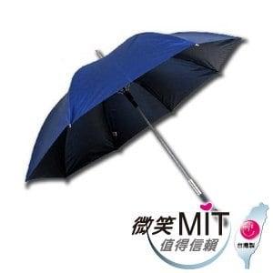 【微笑MIT】張萬春/張萬春洋傘-直立式一級遮光降溫傘 AT1015(深藍)