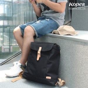 【微笑MIT】KOPER【小清新】元氣厚片包11138-01(經典黑)