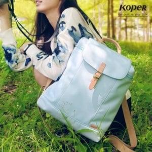 【微笑MIT】KOPER【小清新】元氣厚片包11138-05(棉花藍)
