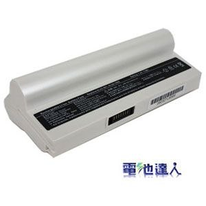 [電池達人]Asus Eee PC 1200 超長效電池 (白色)